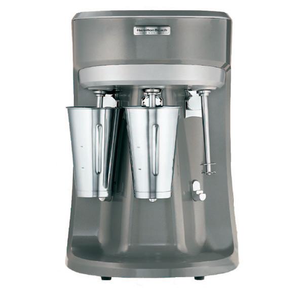 Milkshaker Gehäuse Edelstahl und Aluminium drei Behälter aus Edelstahl  3 Geschwindigkeiten