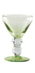 Eis Gläser Korn Zitronengrün (6stck)