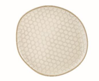 Beige Dinner Plate - Steinzeug