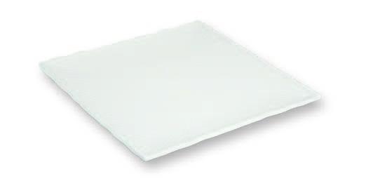 Platte quadratisch