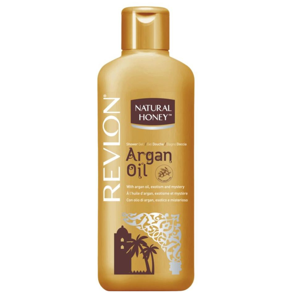 NATURAL HONEY Revlon Argan Oil Bagnodoccia 650ml