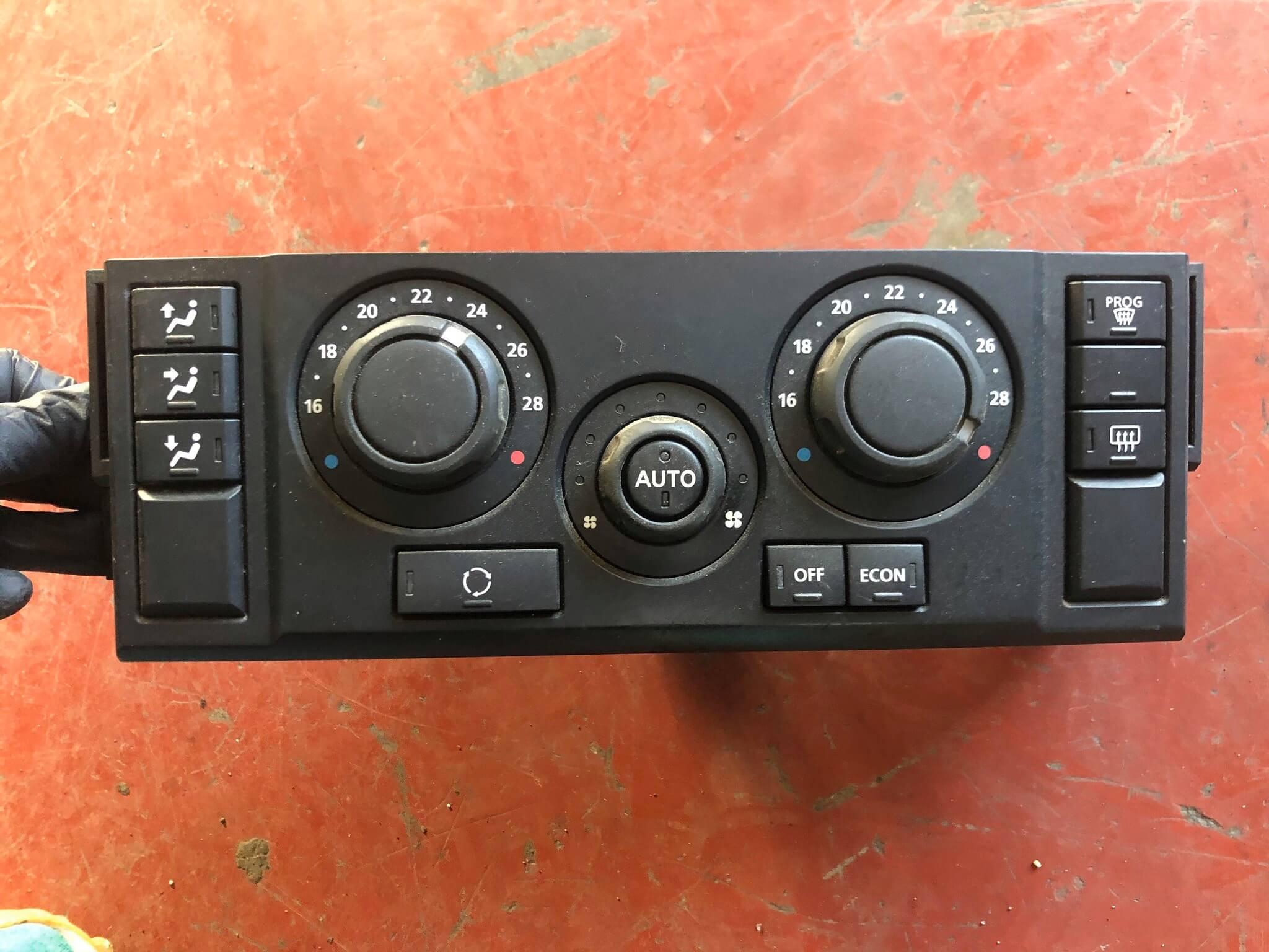 Blocco com. clima usato Land Rover Discovery 3a serie