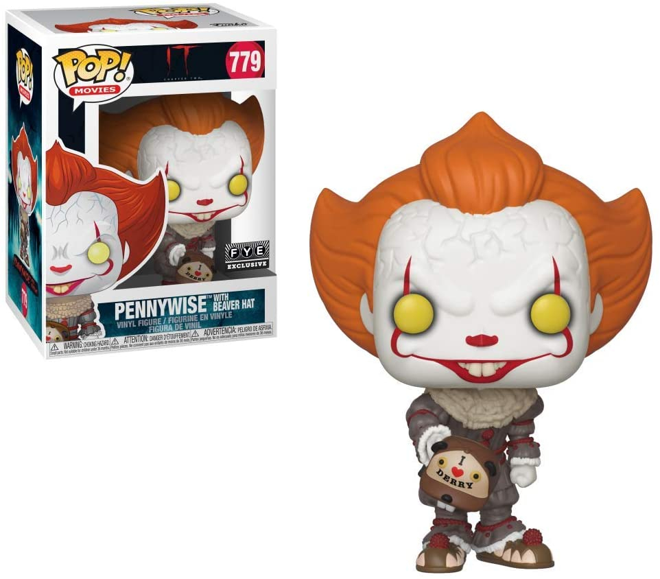 Funko Pop 779: PENNYWISE (with Beaver Hat) IT Special Edition