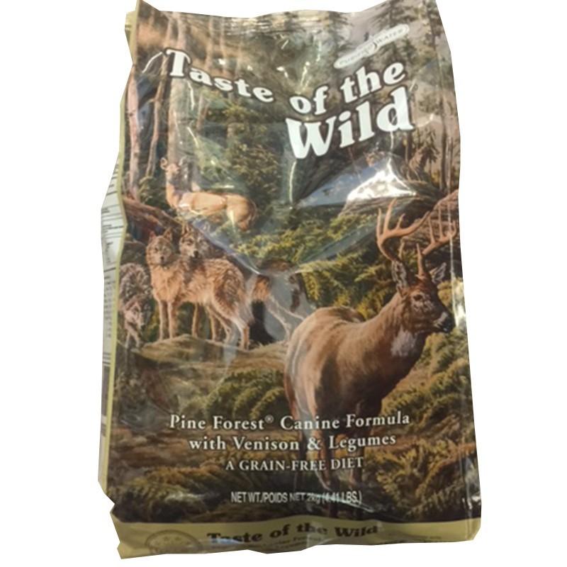 TASTE OF THE WILD CROCCHETTE PINE FOREST CANINE FORMULA 2 KG