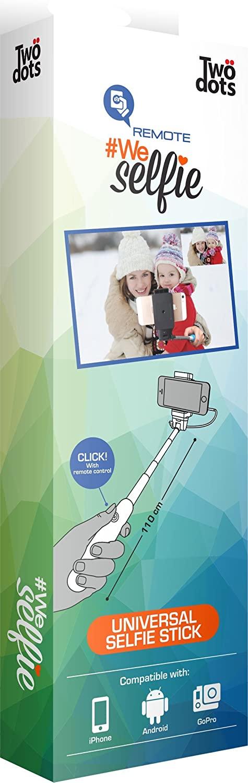 Asta per Selfie: WE SELFIE by Two Dots con telecomando