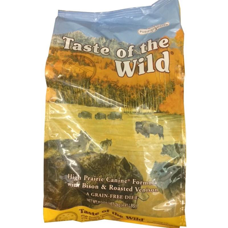 TASTE OF THE WILD CROCCHETTE PER CANI HIGH PRAIRIE  13 KG