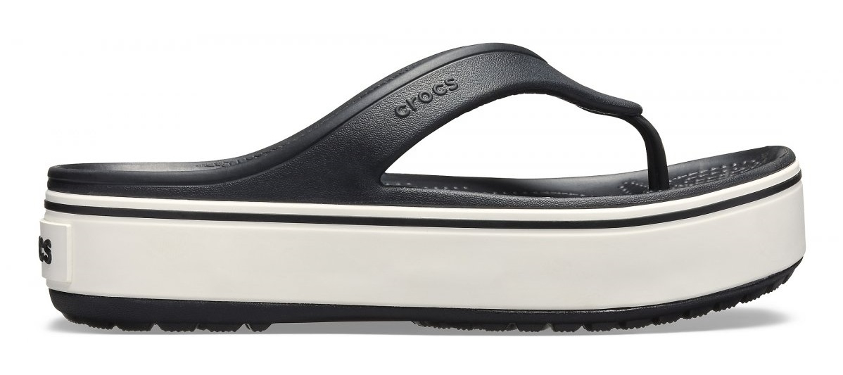 Crocs Crocband Donna 205681 BLACK/WHITE  -8
