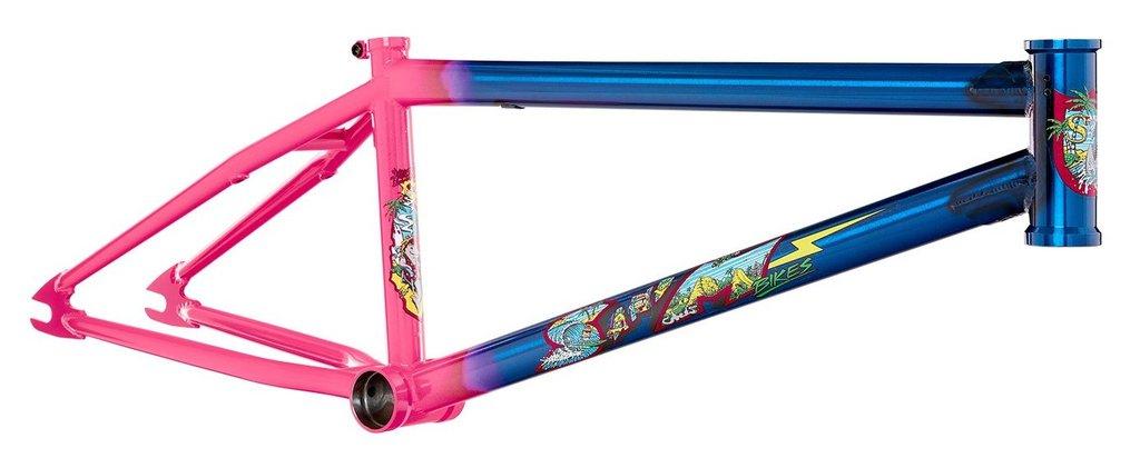S&M Hucker Telaio | Colore Trans Blue Fade Hot Pink