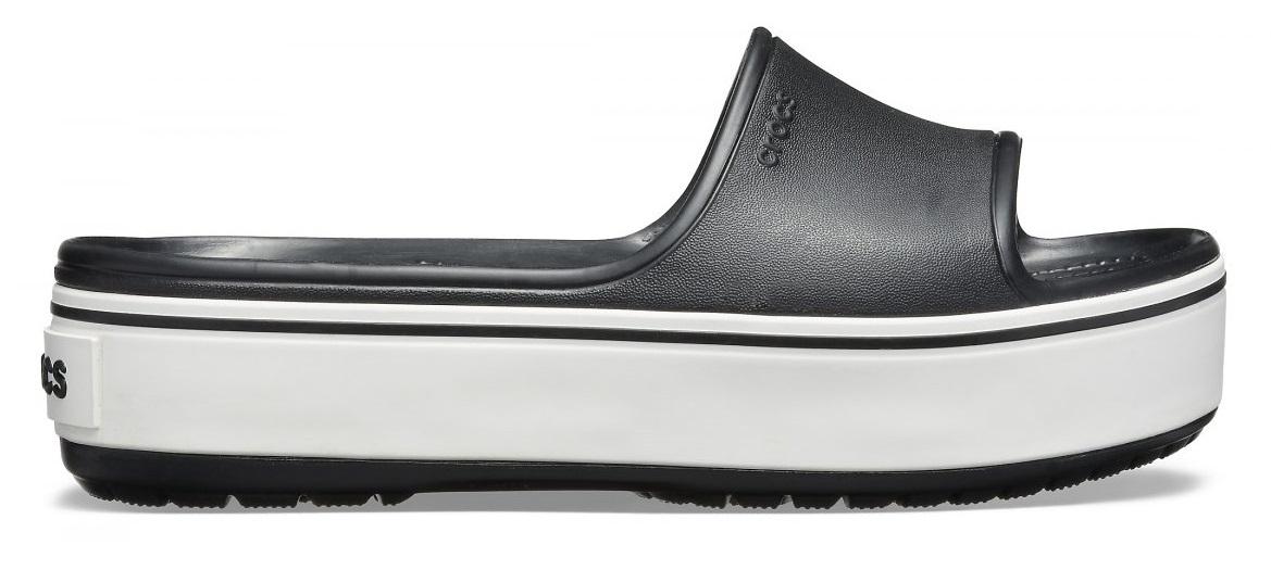 Crocs Crocband Donna 205631 BLACK/WHITE  -8
