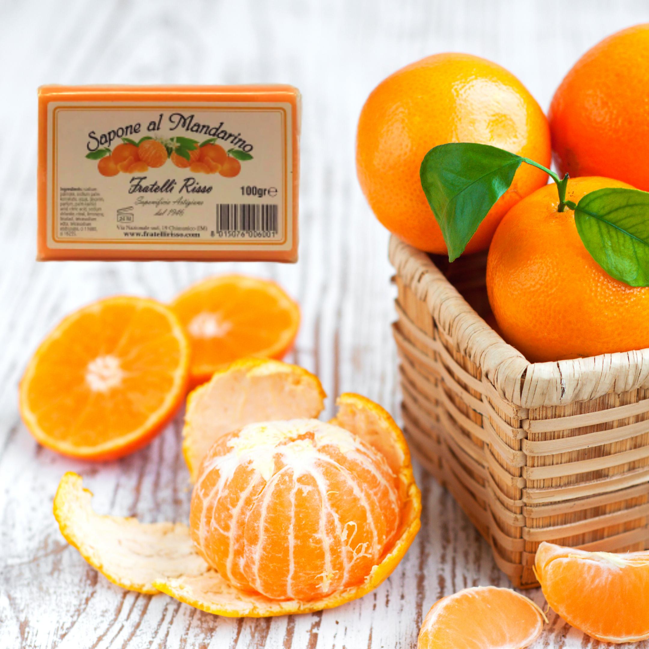 Saponetta al mandarino 100g