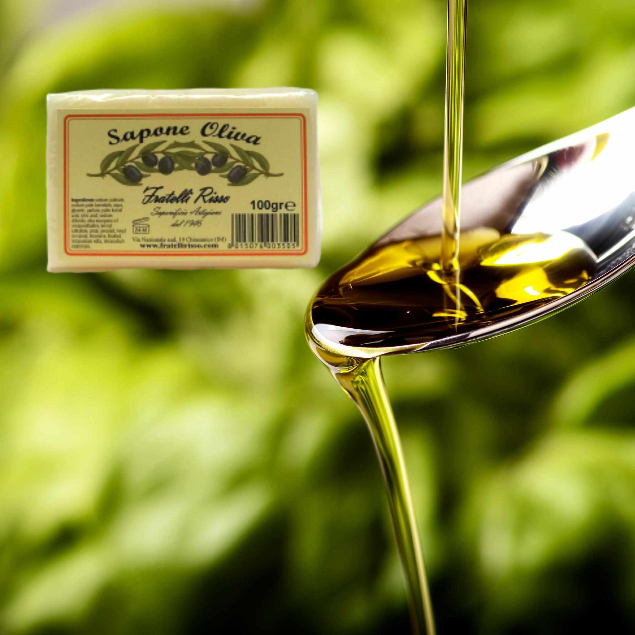 Saponetta all'olio di oliva 100g