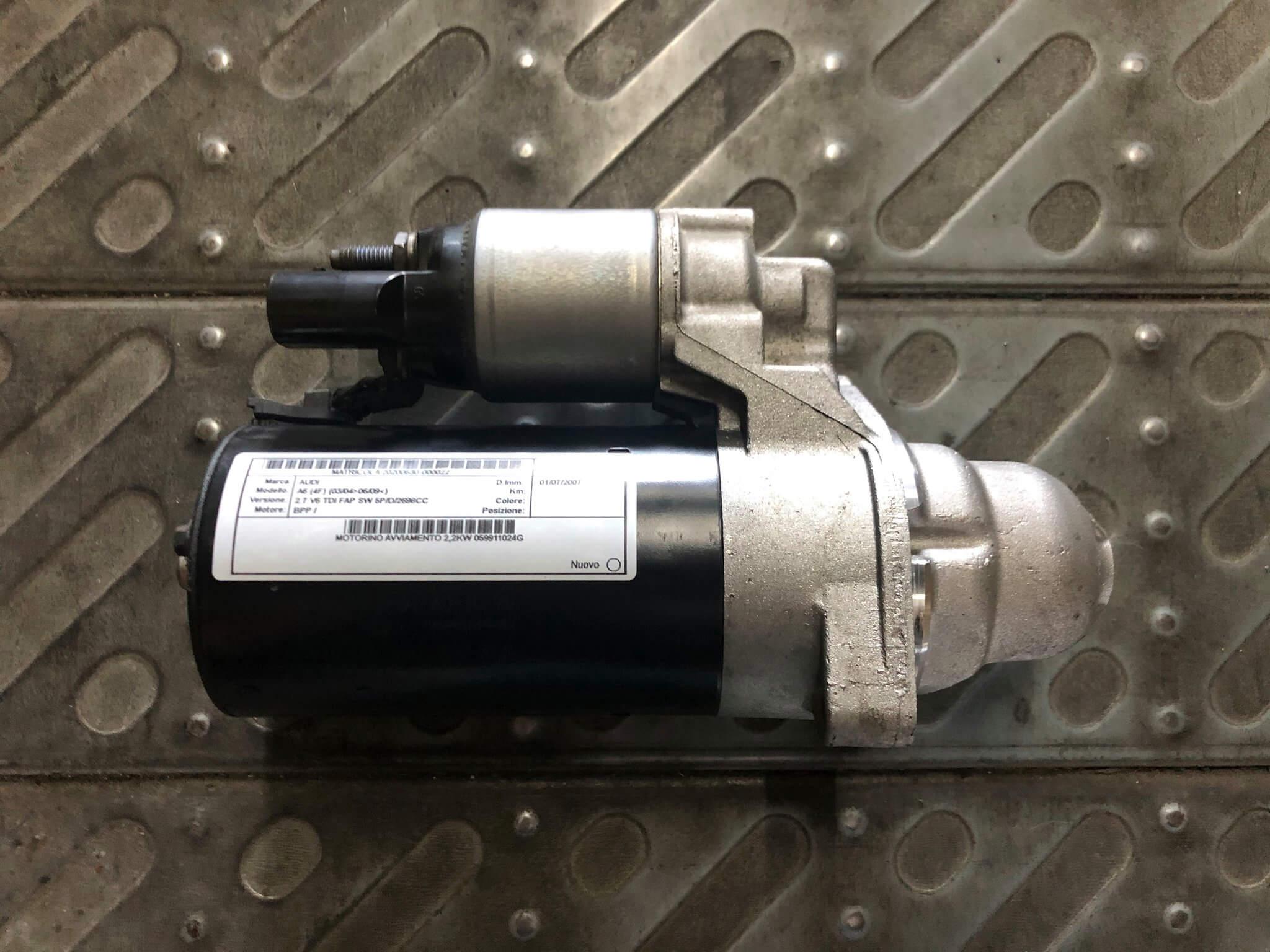Mot. Avv. usato Audi A6 2.7 TDI cod. 059911024