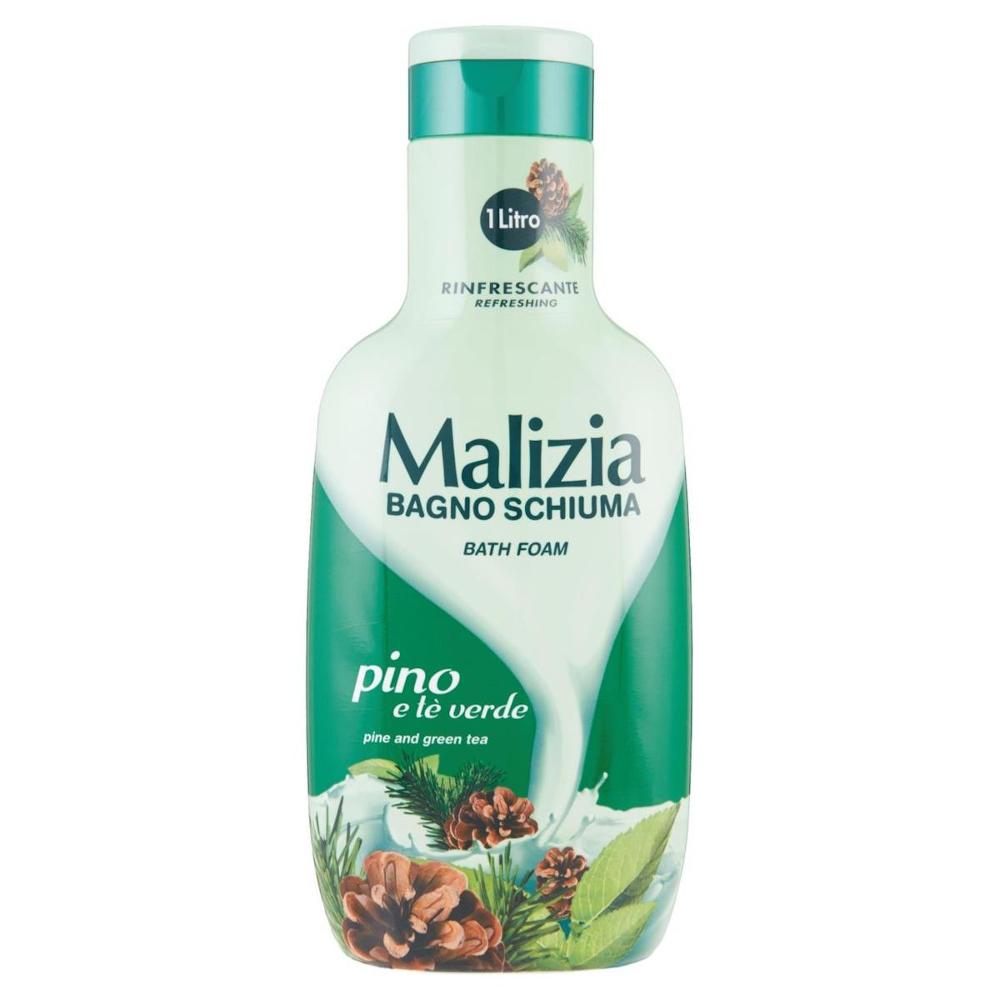 MALIZIA Pino e Tè Verde Bagnoschiuma 1L