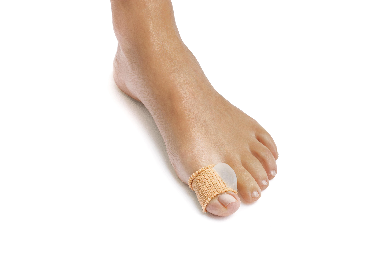 Gel bunion toe spreader w/ribbed fabric