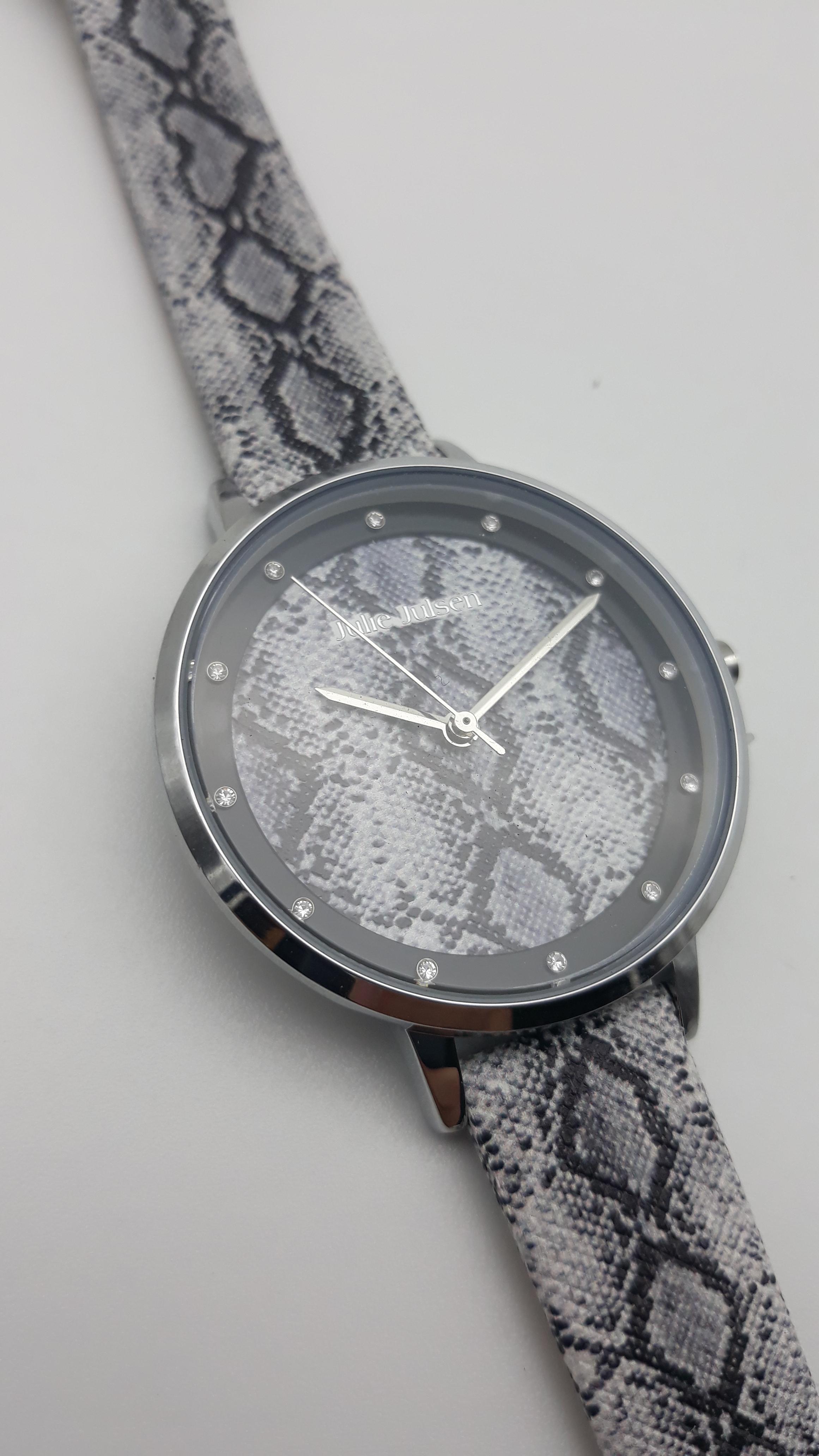 Orologio Donna Julie Julsen JJW1203SL-P Safari Python, vendita on line | OROLOGERIA BRUNI Imperia