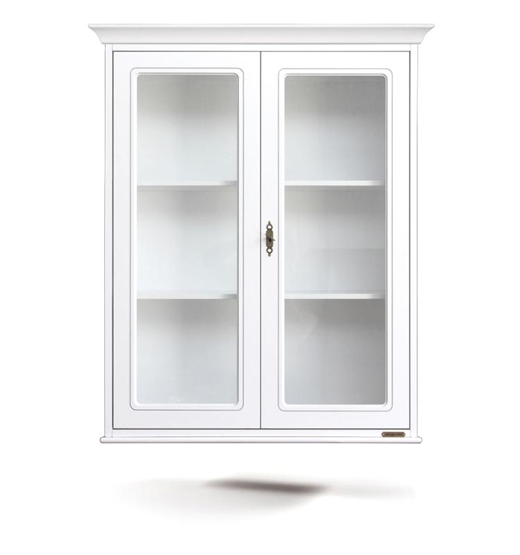 Mueble vitrina de pared 2 puertas