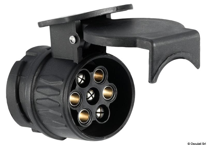 Adattatore carrello 13-7 poli - Osculati