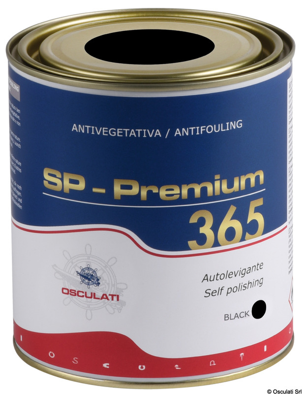Antivegetativa autolevigante Premium 365 nera 0,75 l - Osculati