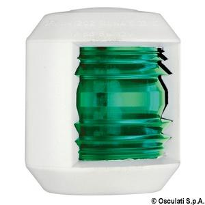 Fanale Utility88 verde/bianco - Osculati
