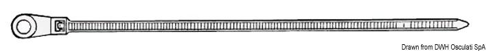 Fascetta nylon 4,8 x 200 mm 100pz - Osculati