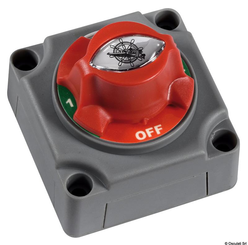 Interruttore Deviatore Batteria 1-2-BOTH-OFF - Osculati