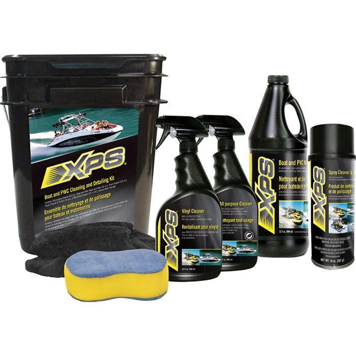 Kit Pulizia e FINITURA Moto e Barche XPS