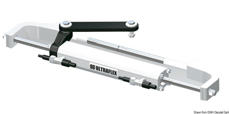 Kit timoneria idraulica Ultraflex Gotech outboard - Osculati