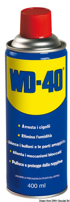 Lubrificante multiuso WD-40 400 ml - Osculati