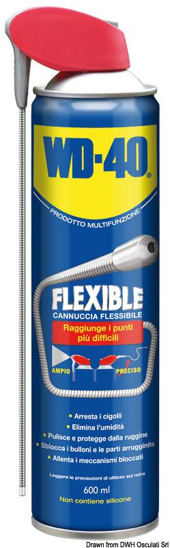 Lubrificante multiuso WD-40 Flexible 600 ml - Osculati