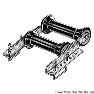 Rullo Basculante posteriore 60 mm - Osculati