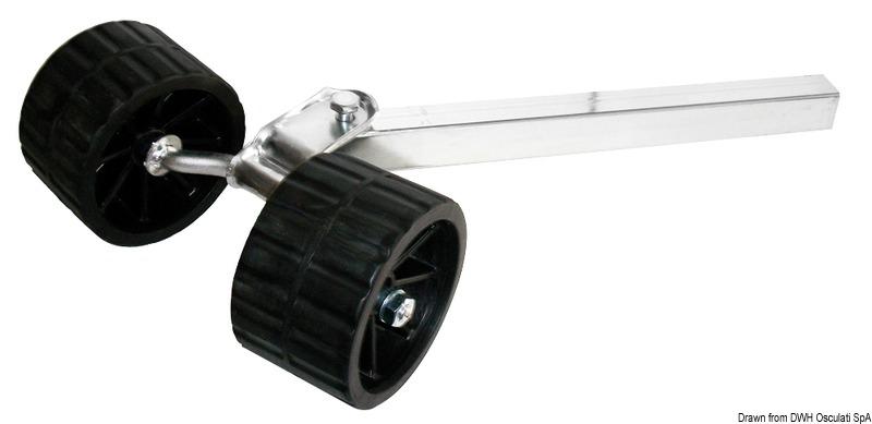 Rullo Basculante Rialzato 40mm - Osculati