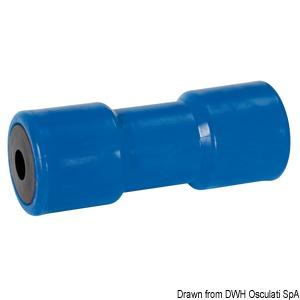Rullo centrale blù 200 mm foro 21 mm - osculati