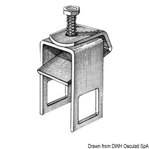 Staffa Fissaggio Rullo 40mm - Osculati