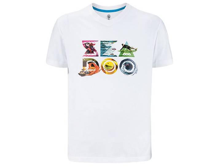 T-Shirt Spark Uomo Bianco (L)