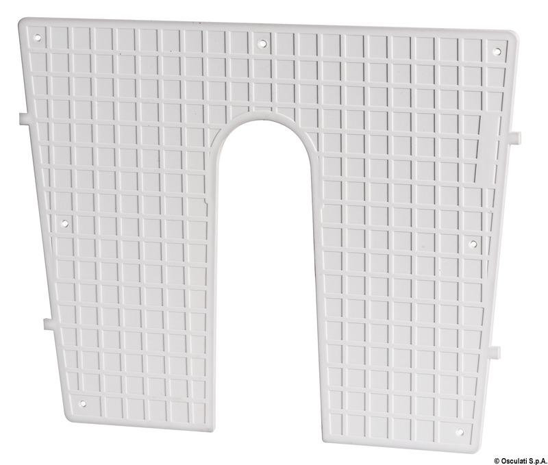 Tavoletta proteggi poppa plastica 45 x 36 cm - Osculati