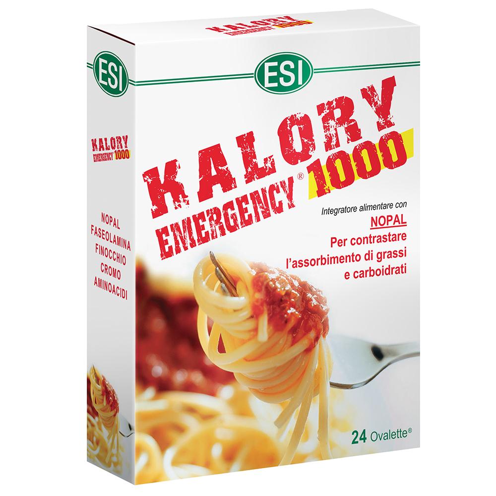 Esi Kalory Emergency 1000 24 Ovalette