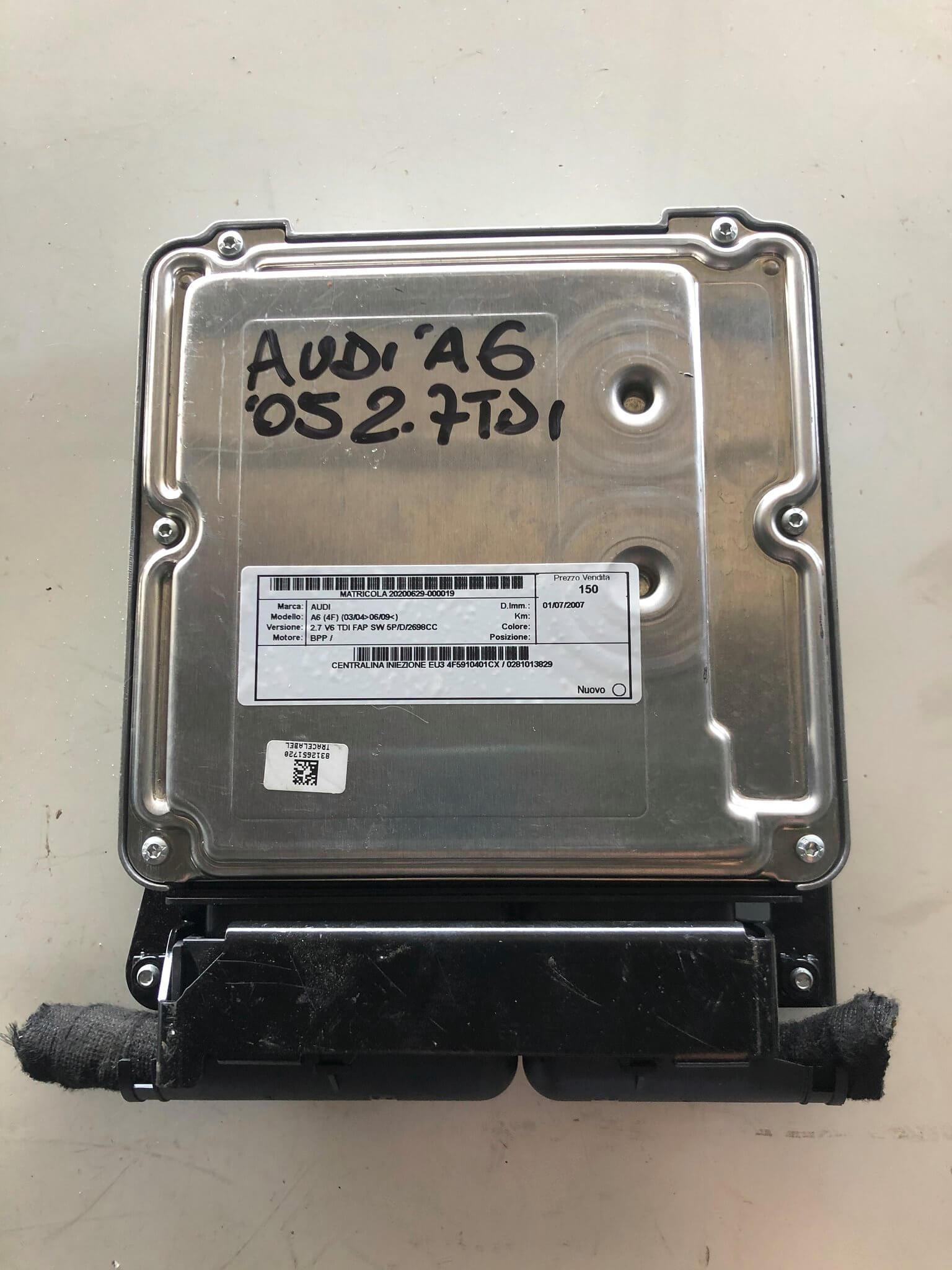 centralina iniez. usata Audi A6 2.7 TDI cod. 4F0907401c