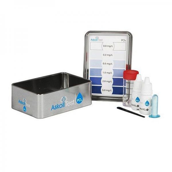 Askoll Test PO4 per la misurazione dei fosfati in acqua dolce e marina