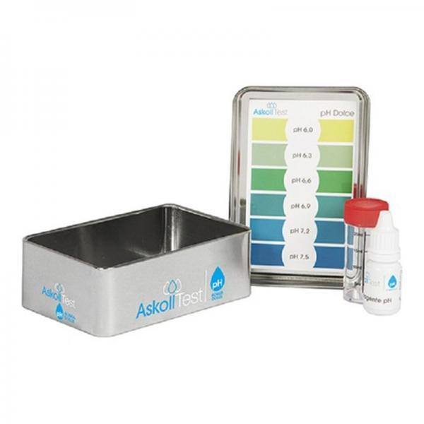 Askoll Test PH Dolce per la Misurazione dell Acidità in acqua dolce