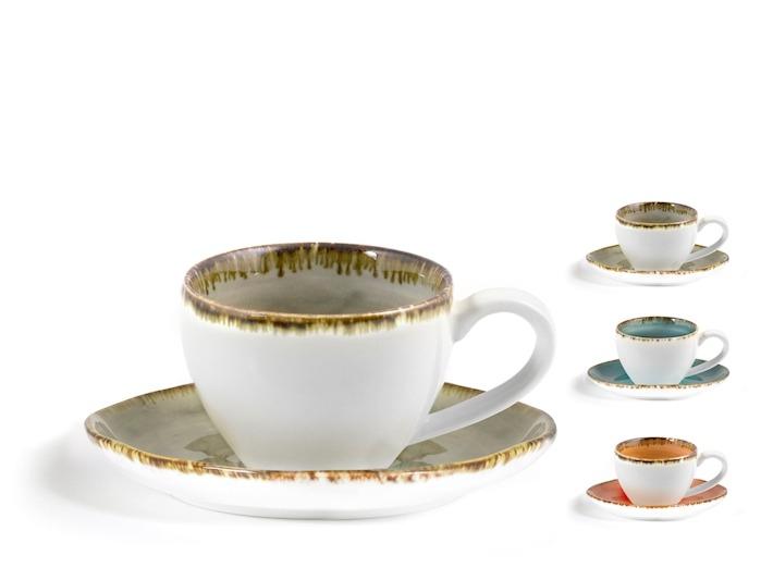 Confezione regalo 2 tazze caffè mediterraneo