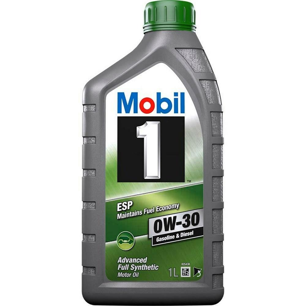 OLIO MOTORE MOBIL 1 ESP ADVANCED FULL SYNTHETIC FUEL ECONOMY 0W30 1L