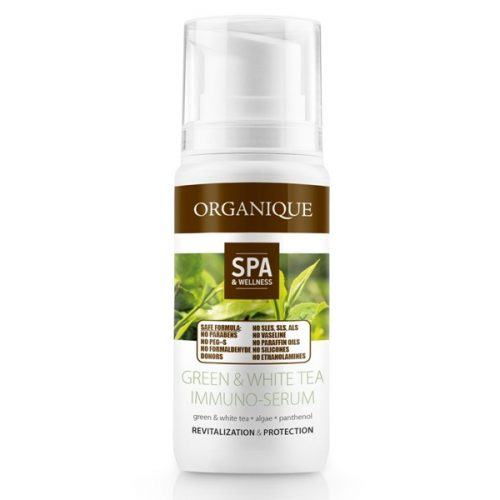 Organique Siero Antiossidante/Detossinante Tè Verde & Tè Bianco 100ml