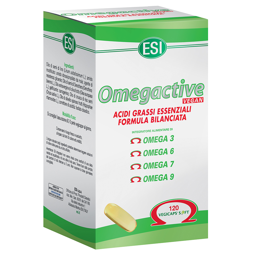 Esi Omegactive Vegan 120 Capsule