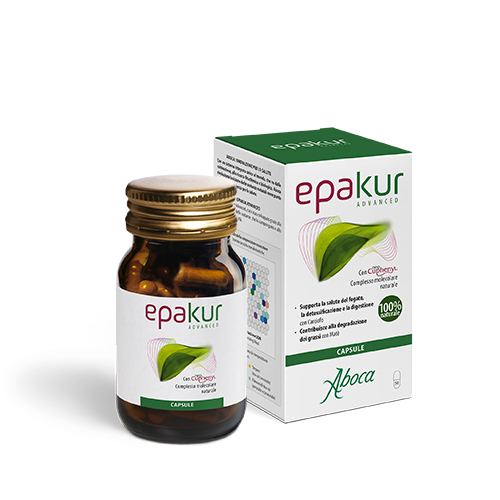 Aboca Epakur Advanced Capsule Flacone da 50