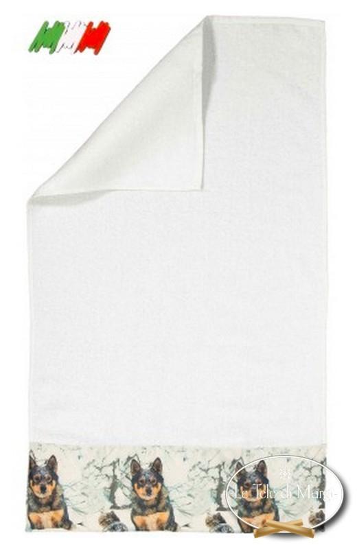 Asciugamani stampa digitale Pastore tedesco