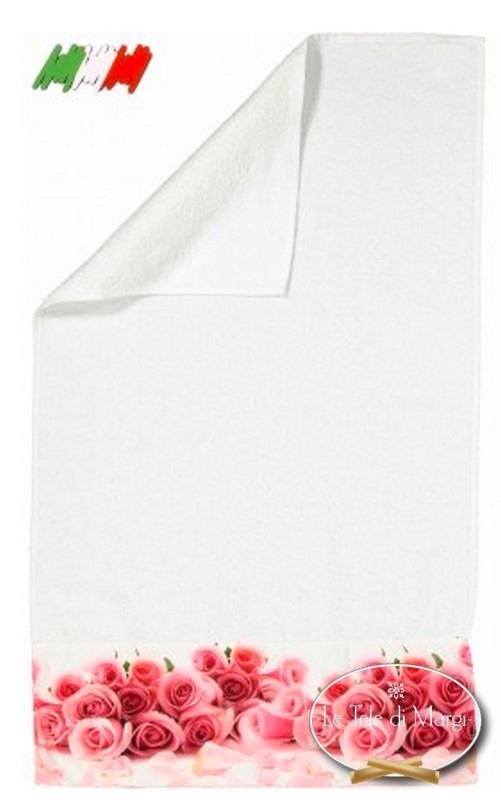 Asciugamani stampa digitale Rose