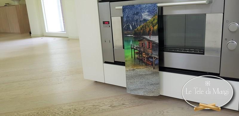 Canovaccio stampa digitale Lago di Braies