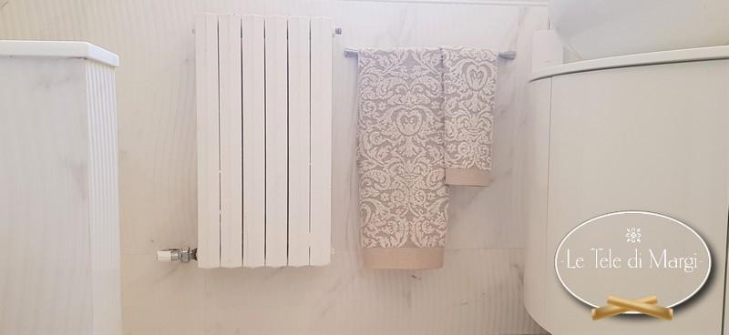 Coppia asciugamani Lavorazione in Lino