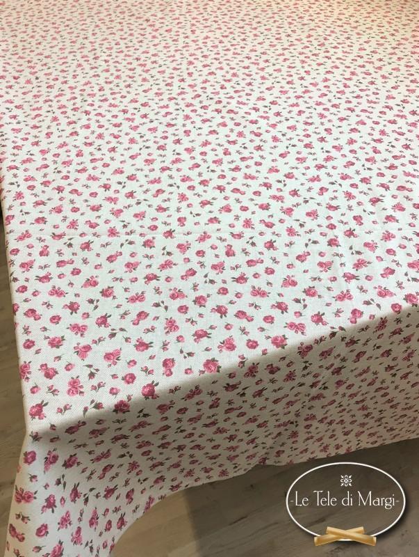 Tovaglia Fiorellino rosa