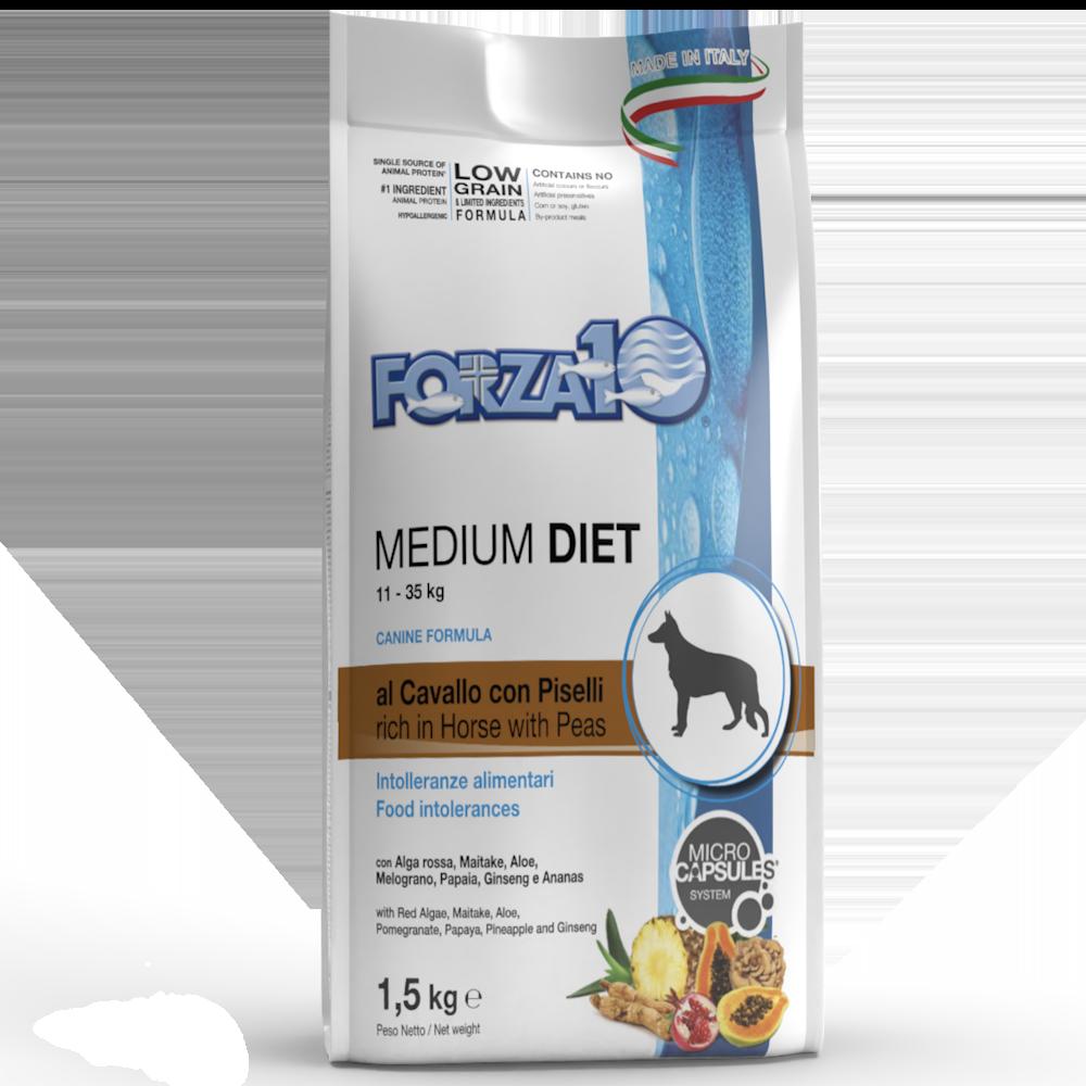Medium Diet al Cavallo e Piselli